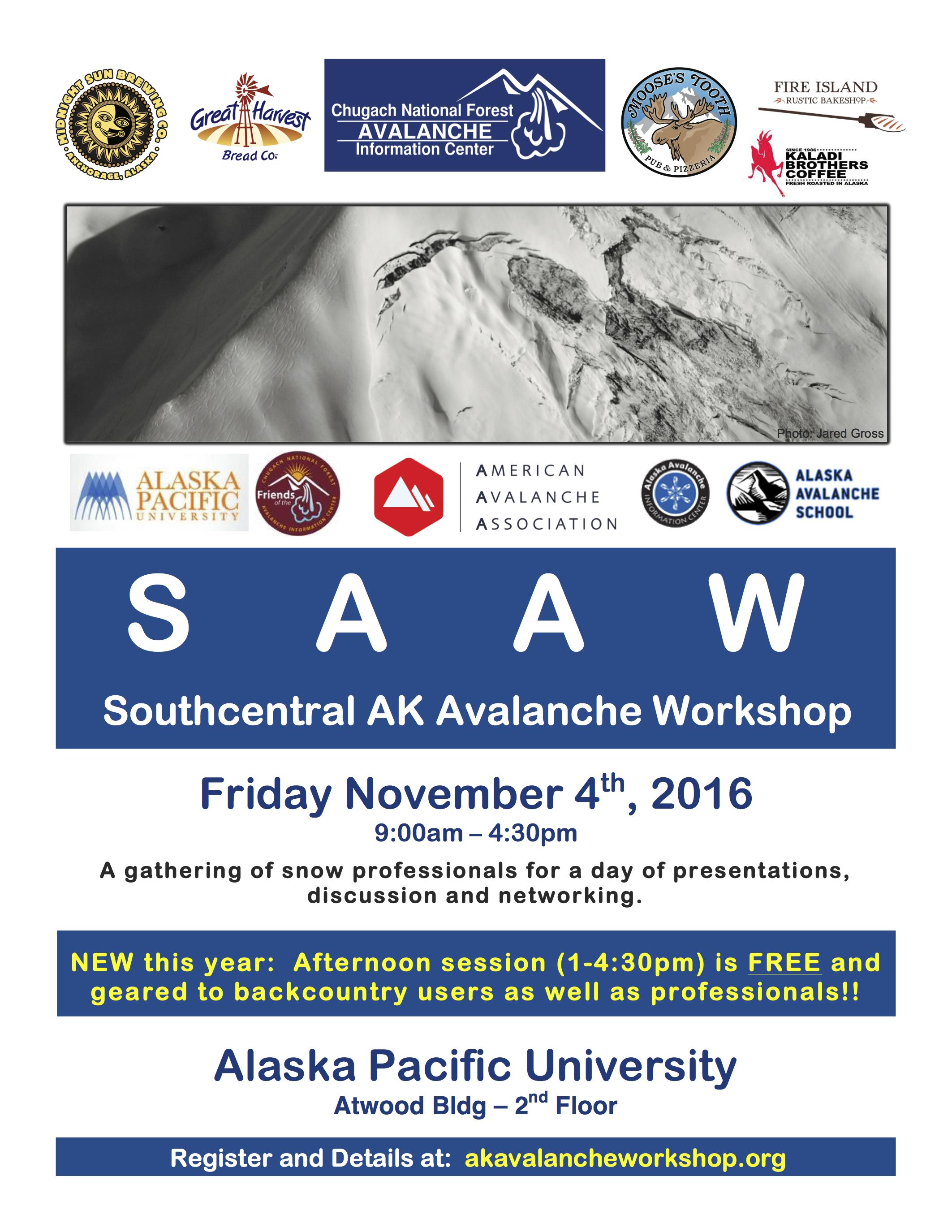 2016 SAAW flier